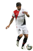 Ever Banega football render