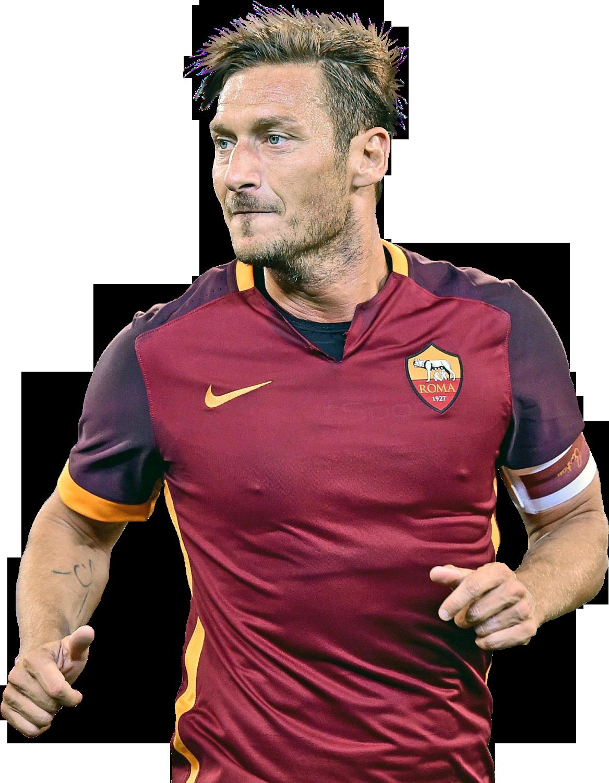 Francesco Totti football render - 19041 - FootyRenders