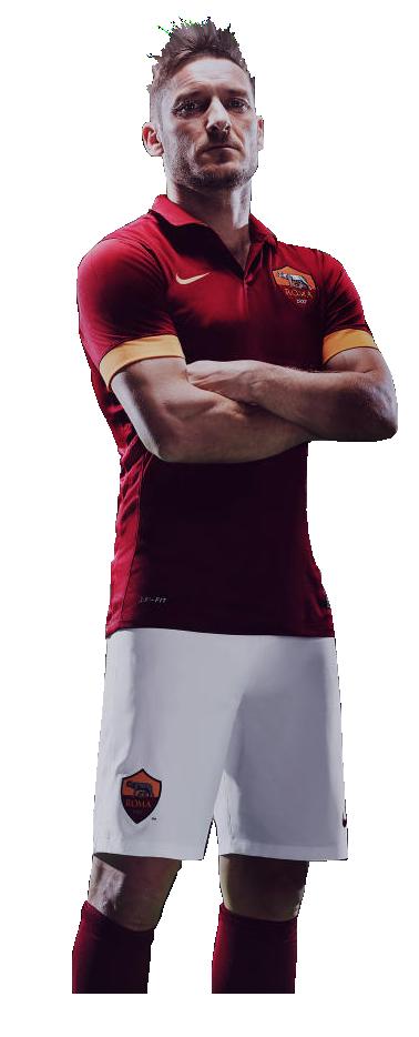 Francesco Totti football render - 7027 - FootyRenders