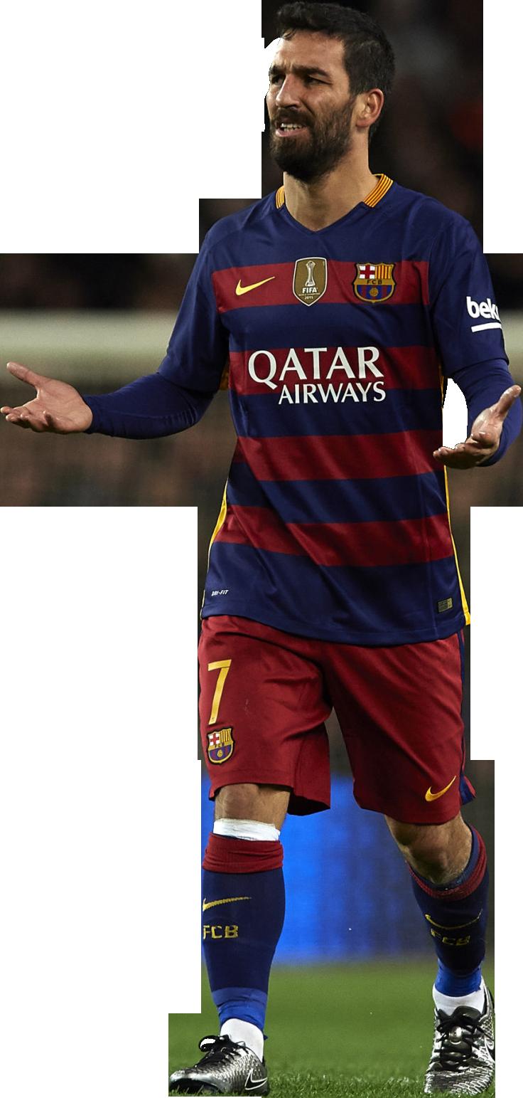Arda turan football render 20721 footyrenders - Render barcelona ...