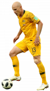 Aaron Mooy football render