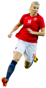 Ada Hegerberg football render