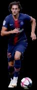 Adrien Rabiot football render