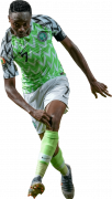 Ahmed Musa football render