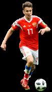 Aleksandr Golovin football render
