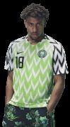 Alex Iwobi football render