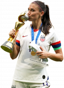 Alex Morgan football render