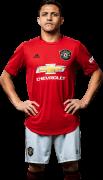 Alexis Sanchez football render