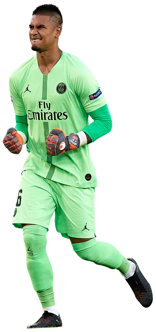 Alphonse Areola Football Render - 4739