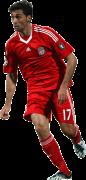 Alvaro Arbeloa football render