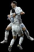 Alvaro Morata & Lucas Vazquez