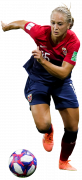 Amalie Vevle Eikeland football render