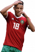 Amine Harit football render