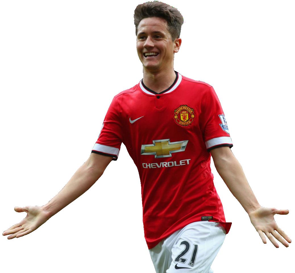 Ander Herrera Render Manchester United FootyRenders Com
