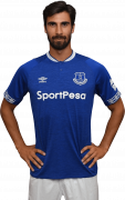 André Gomes football render