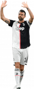 Andrea Barzagli football render