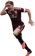 Andrea Belotti football render