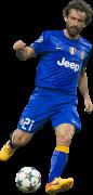 Andrea Pirlo football render