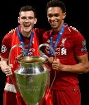 Andrew Robertson & Trent Alexander-Arnold football render