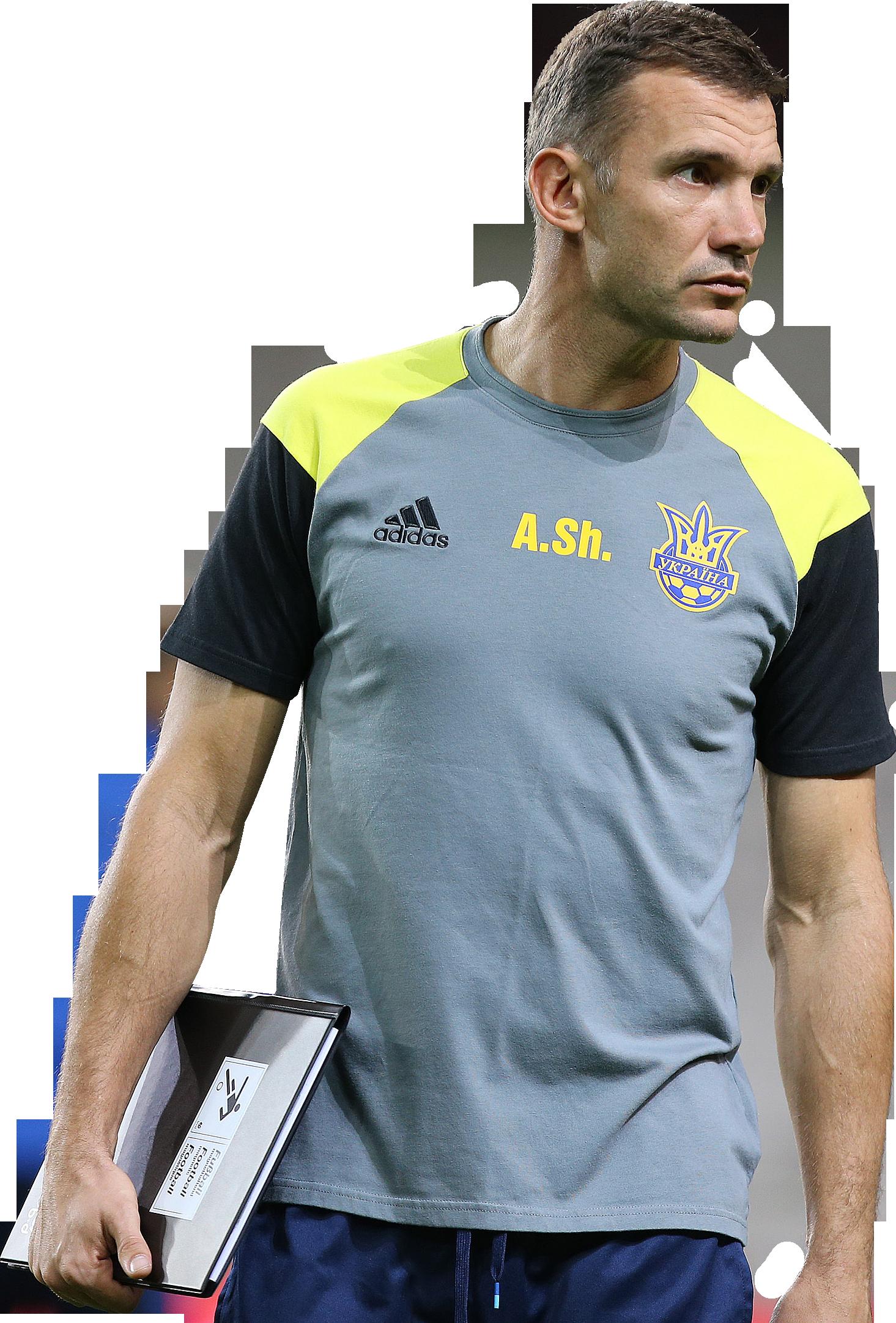 Andriy Shevchenko football render FootyRenders