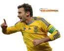Andriy Shevchenko football render