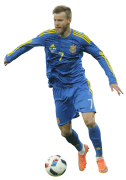 Andriy Yarmolenko football render