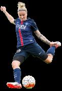 Anja Mittag football render