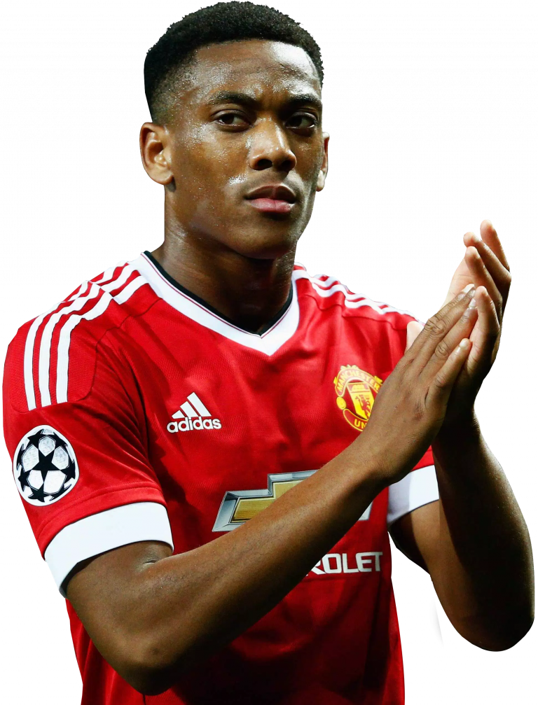 Anthony Martial football render - 22131 - FootyRenders
