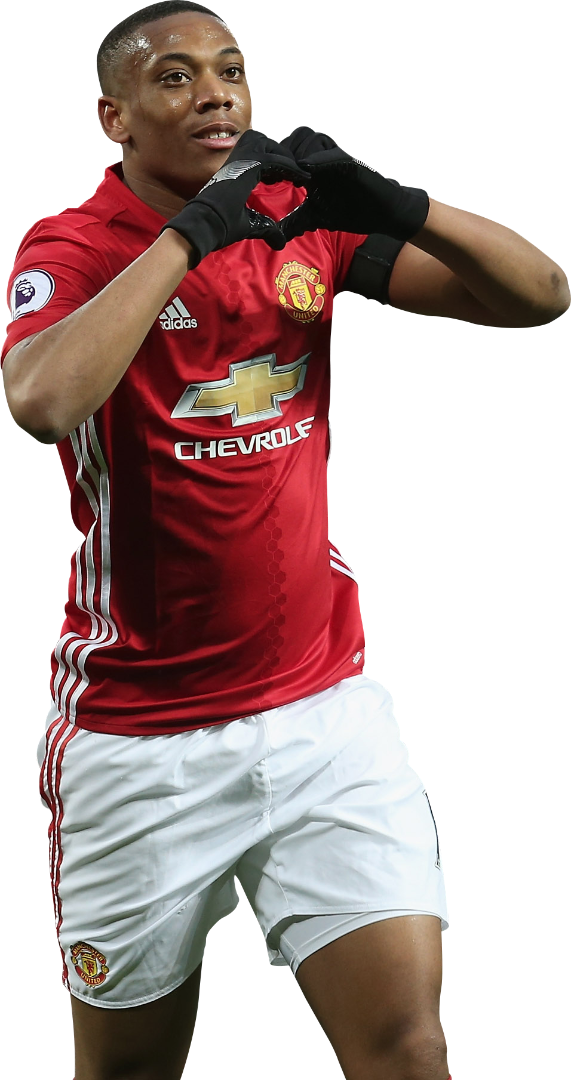 Anthony Martial Football Render 34357 Footyrenders