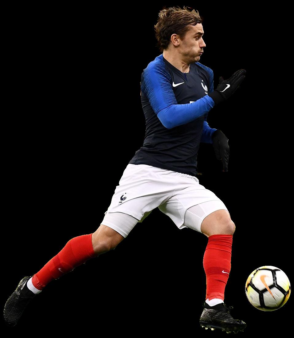 Antoine Griezmann Football Render 45016 Footyrenders