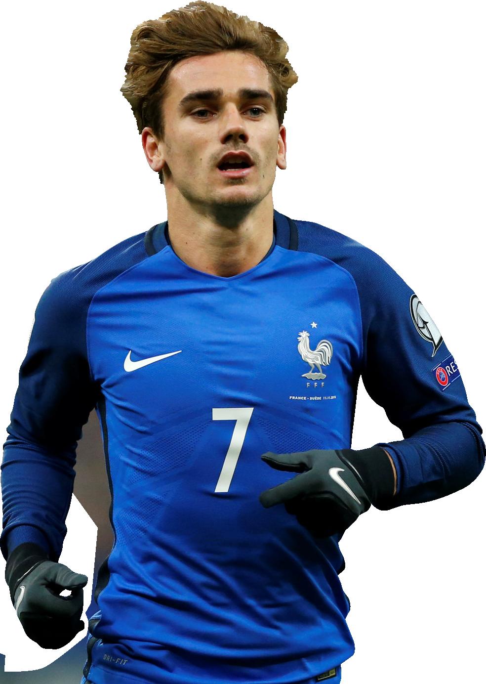 Antoine griezmann football render 32139 footyrenders - Antoine griezmann ...