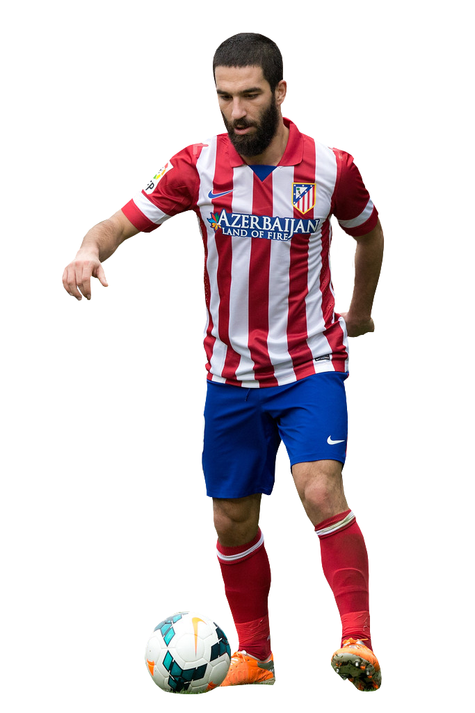 Arda turan football render 20496 footyrenders - Render barcelona ...