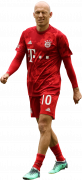 Arjen Robben football render