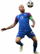 Aron Gunnarsson football render
