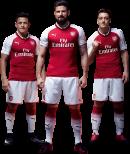 Alexis Sanchez, Olivier Giroud & Mesut Özil