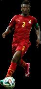 Asamoah Gyan football render