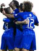 Bafetimbi Gomis, Sebastian Giovinco & Yasser Al-Shahrani football render