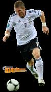 Bastian Schweinsteiger football render