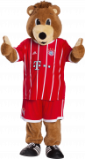 "Bayern Munich Mascot ""Berni"" football render"