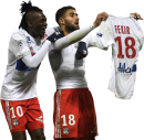 Bertrand Traoré & Nabil Fekir