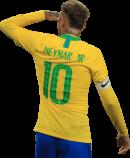 Neymar football render