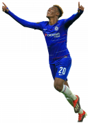 Callum Hudson-Odoi football render