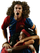 Carles Puyol & Ronaldinho