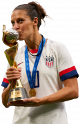 Carli Lloyd football render