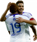 Carlos Eduardo & André Carrillo football render