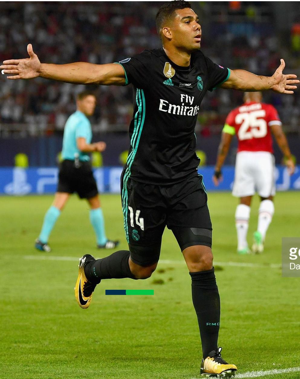 Casemiro football render FootyRenders