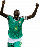 Cheikhou Kouyaté football render