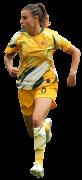 Chloe Logarzo football render