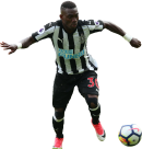 Christian Atsu football render