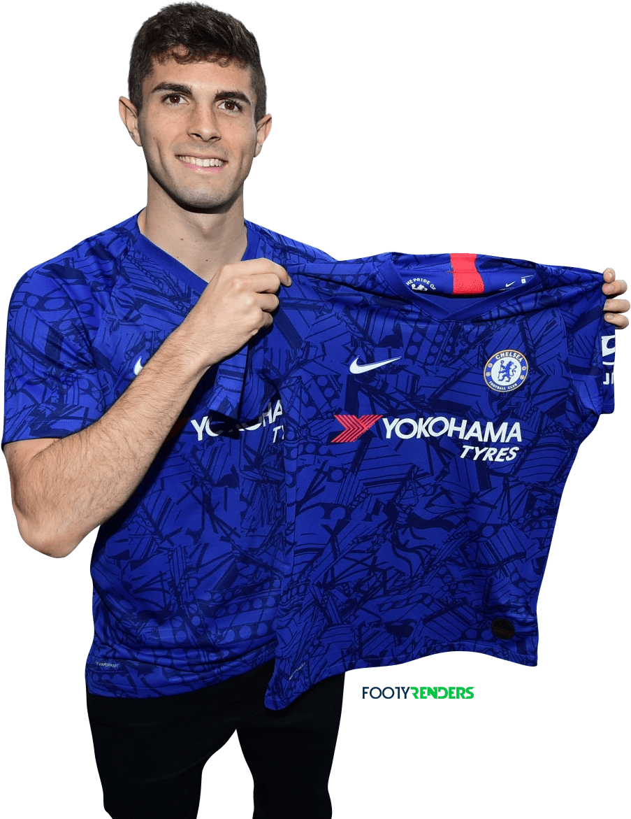 Christian Pulisic render